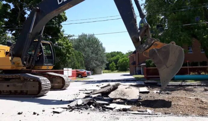 Asphalt demolition removal-Gulf Coast Waste Dumpster Rental Solutions-We Offer Residential and Commercial Dumpster Removal Services, Portable Toilet Services, Dumpster Rentals, Bulk Trash, Demolition Removal, Junk Hauling, Rubbish Removal, Waste Containers, Debris Removal, 20 & 30 Yard Container Rentals, and much more!